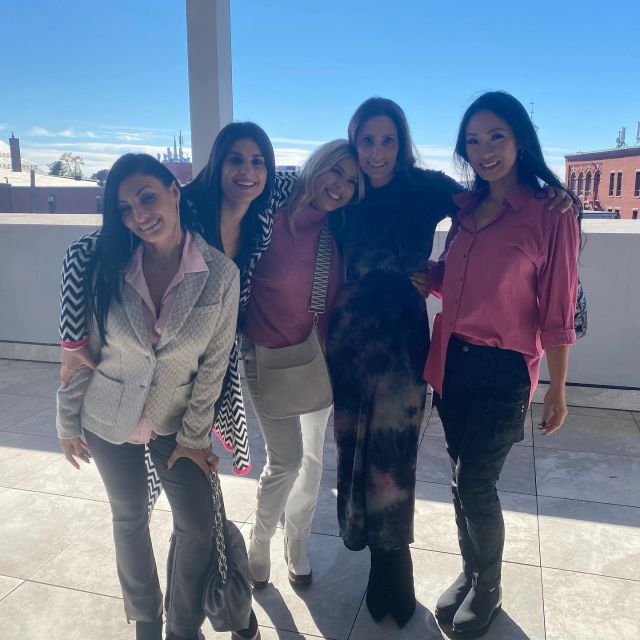 What a fun day today we had at The 2nd Annual Breast Cancer Benefit hosted by Lillian Montaldo.  All of her gorgeous associates shined in SoleAmour's fall fashions.